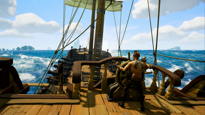 Sea of Thieves takes inspiration from DayZ, EVE Online, and Kinect Sports