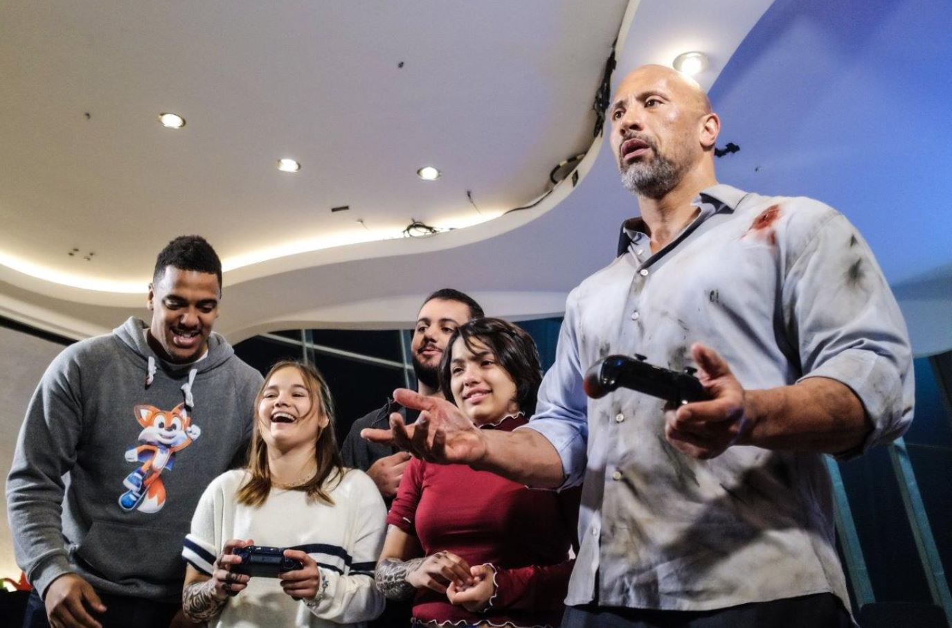 The Rock gifts custom Xbox One X consoles to a few Make-A-Wish kids for the holiday season