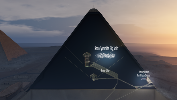 This Week, New Secret Chamber Discovered in Giza Pyramid, It's Already in Assassin's Creed Origins