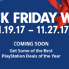 Sony talks PlayStation Black Friday Plans