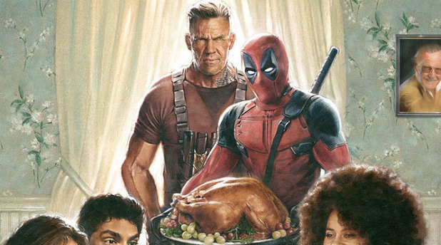 The new 'Deadpool 2' poster may have just hinted at a trailer for Thanksgiving