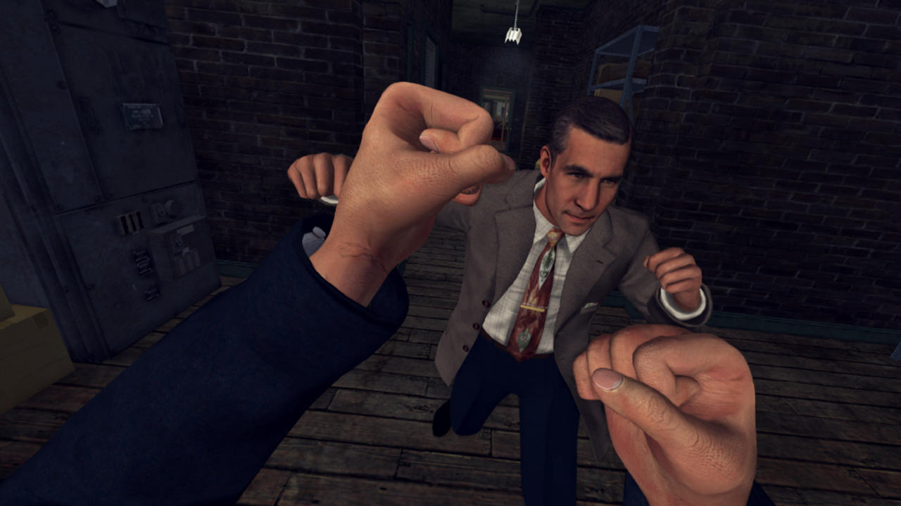 L.A. Noire gets first VR screenshots and details; VR delayed to December