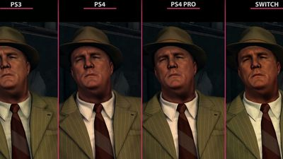 [Watch] L.A. Noire PS3 vs PS4 vs PS4 Pro vs Switch graphics comparison