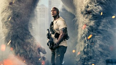 [Watch] Rampage movie trailer highlights an explosive concrete jungle