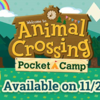 Mobile Game Animal Crossing: Pocket Camp Release Date is Coming in Hot