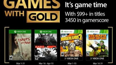 All of Xbox's free Games with Gold titles for 2017 listed