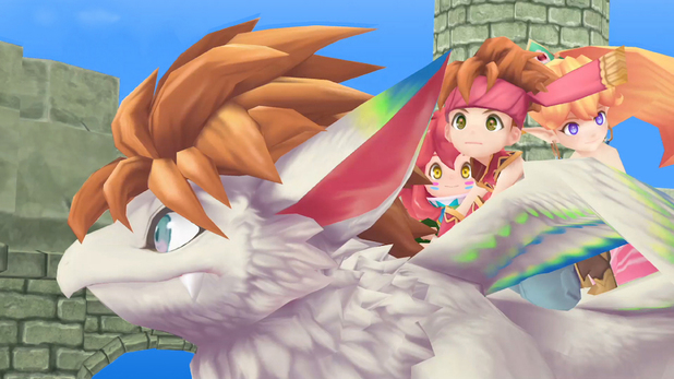 Secret of Mana PS4 Remake Getting Limited Physical Release