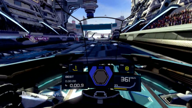 WipEout Omega Collection VR update coming in early 2018