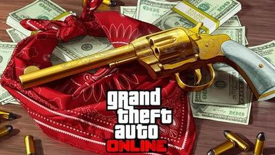 Unlocking the Double Action Revolver in GTA Online gets you the gun in Red Dead Redemption 2