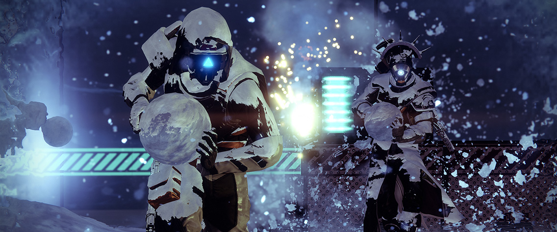 Destiny 2 gets new holiday themed update with snowball fights and more