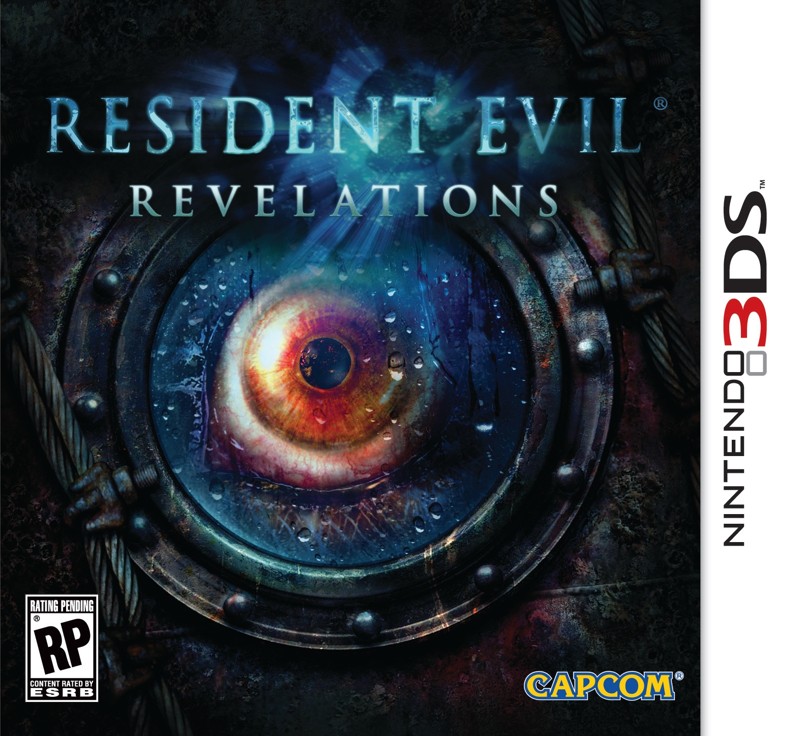 Resident Evil Revelations 3DS Case