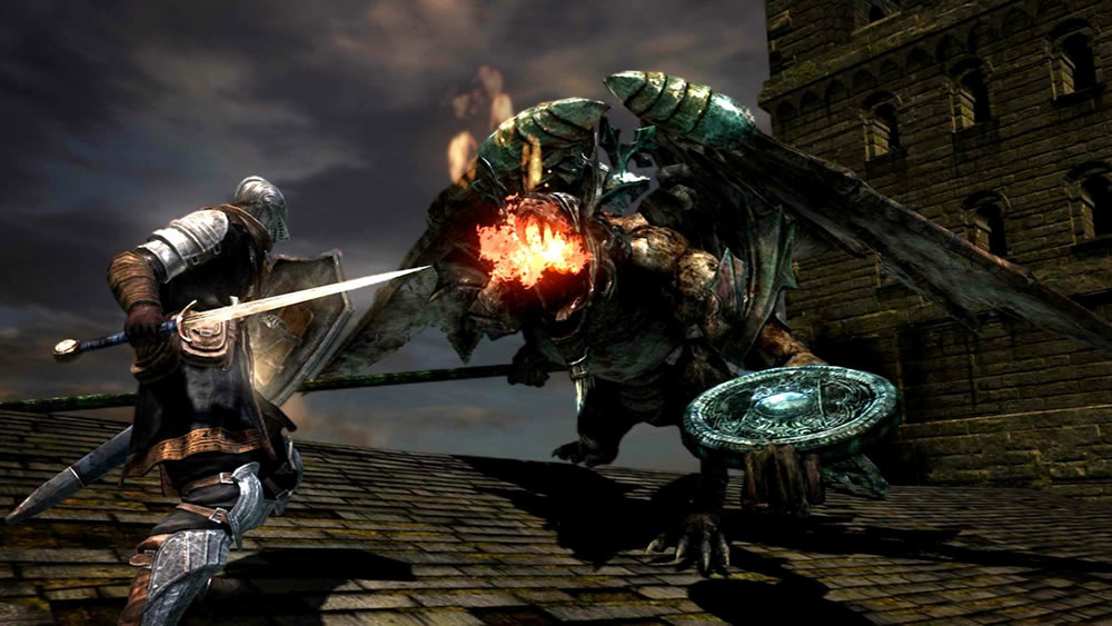 Dark Souls on Playstation 3 and Xbox 360