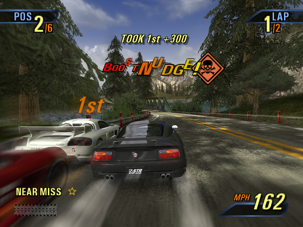 Burnout 3 Takedown Xbox Gameplay