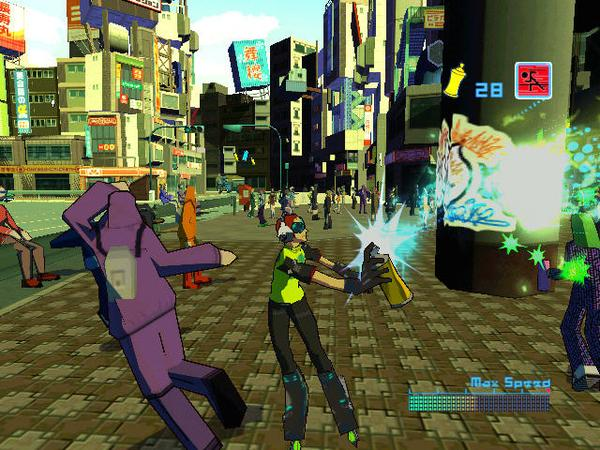 Jet Set Radio Future Xbox Gameplay