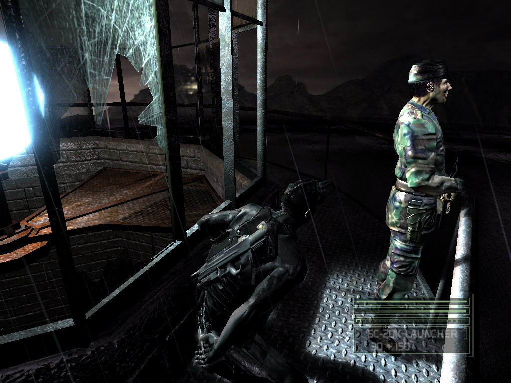 Splinter Cell: Chaos Theory Xbox Gameplay