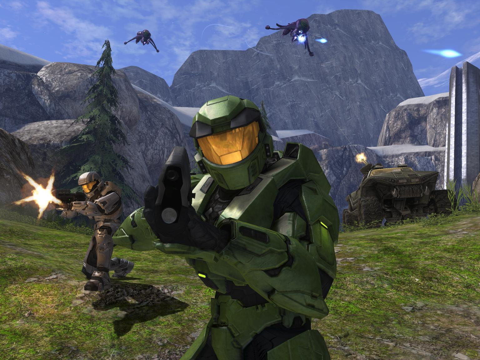 Halo Xbox Gameplay