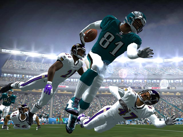 ESPN NFL 2K5 Xbox Gameplay