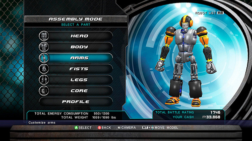 Real Steel XBLA robot creation