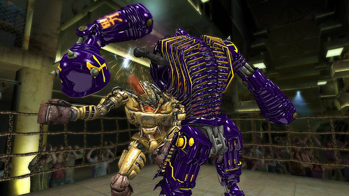 Real Steel XBLA game screenshot
