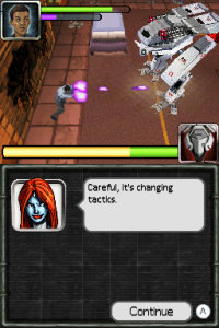 x-men destiny nintendo ds screenshot