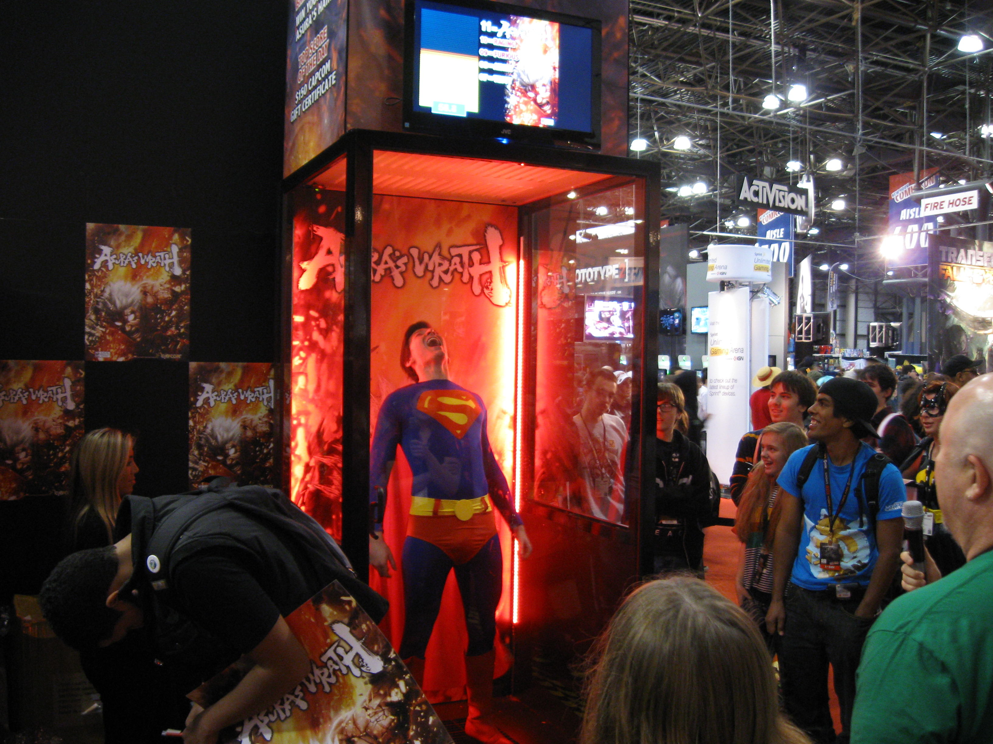Asura's Wrath superman yelling
