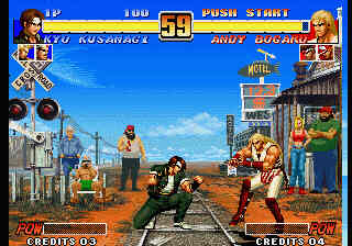 King of fighters '96 screenshot