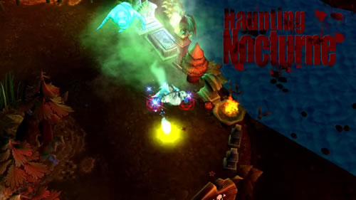 New League of Legends Halloween skin Haunting Nocturne
