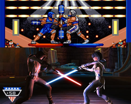 Star Wars the Old republic american gladiators game