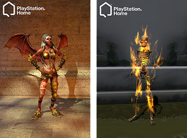PlayStation Home costumes