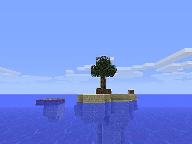 Minecraft Island Survival Map