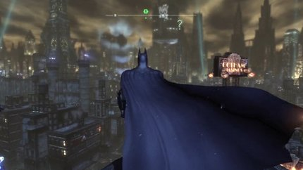 Batman Arkham City screenshot 360 PS3 PC