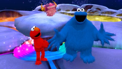Sesame Street: Once Upon a Monster 360 Kinect Screenshot