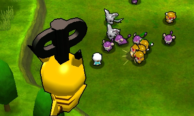 Pokemon rumble blast 3ds screenshot