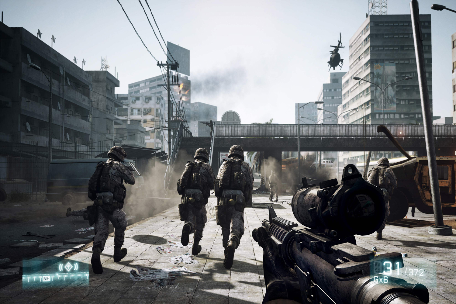 Battlefield 3 for Xbox 360, PlayStation 3, and PC