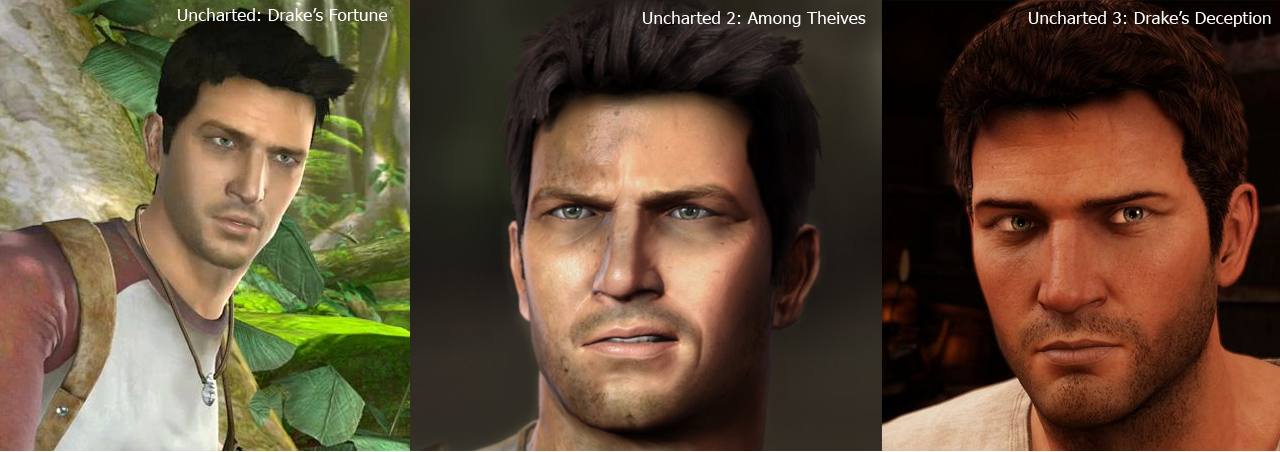 Nathan drake graphics