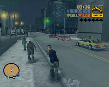 Grand Theft Auto Look Back Chaos And Carj Gamezone