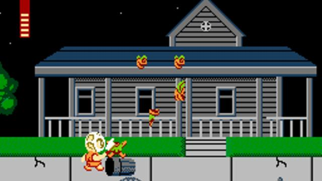 Splatterhouse: Wanpaku Graffiti screenshot