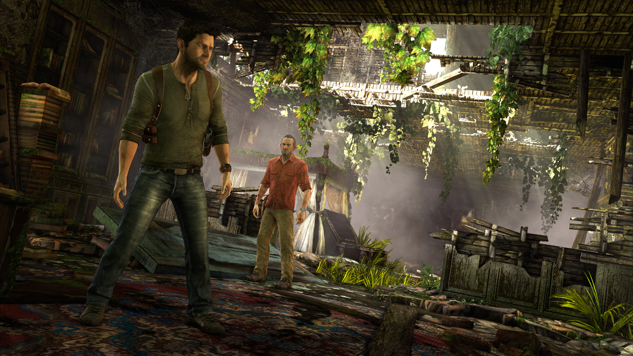 Uncharted 3 Screenshot