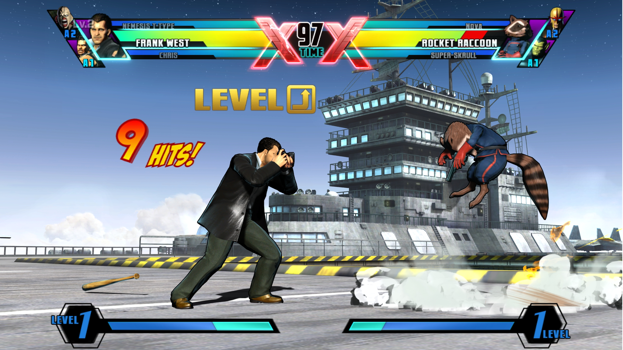 Frank West Ultimate Marvel vs Capcom 3