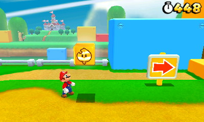 super mario 3d land super leaf