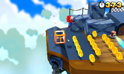 super mario 3d land airship