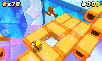 super mario 3d land tanooki bee