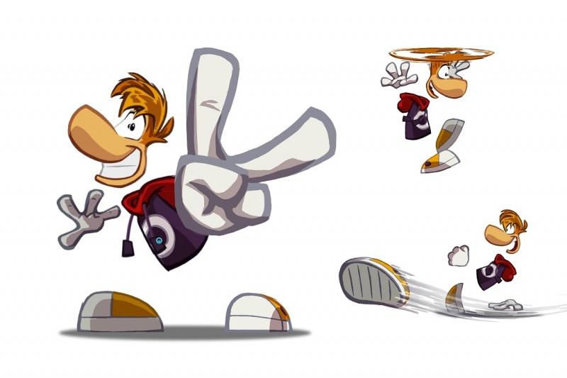 Rayman Origins Character