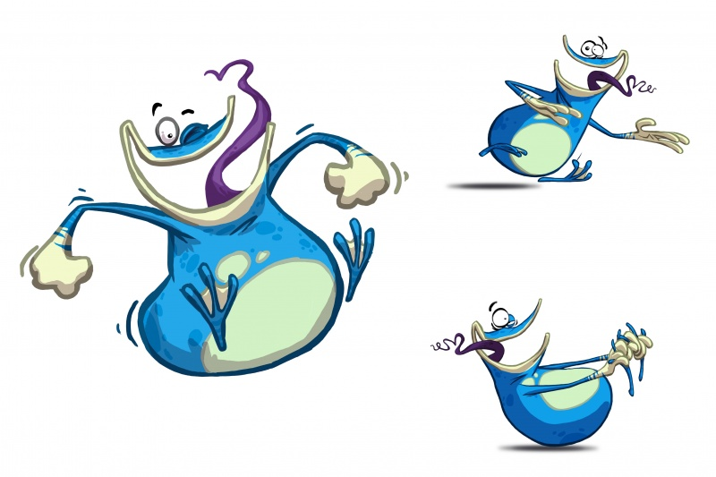 Rayman Origins Character Globox