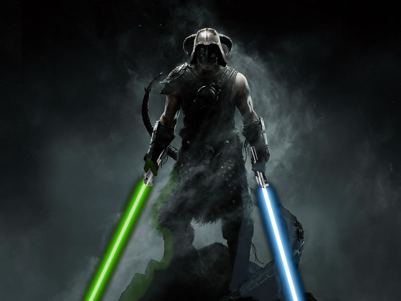 Skyrim Star Wars: The Old Republic beta