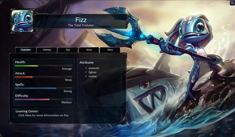 Fizz League of Legends