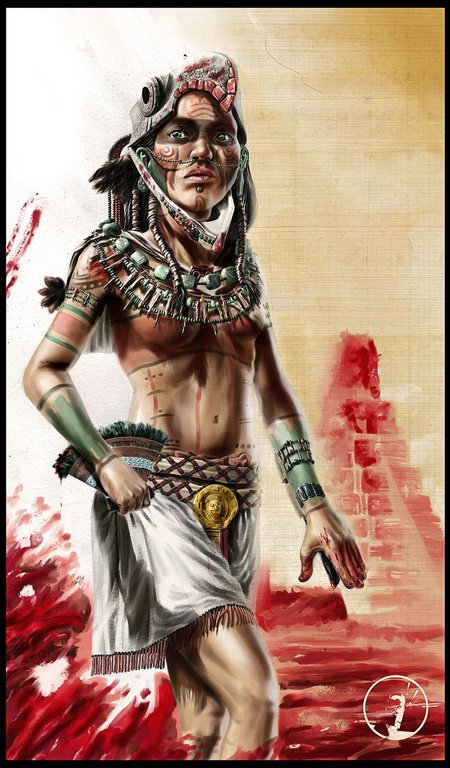 Assassins Creed 3 Aztec Warrior