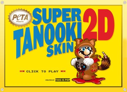 super mario tanooki peta