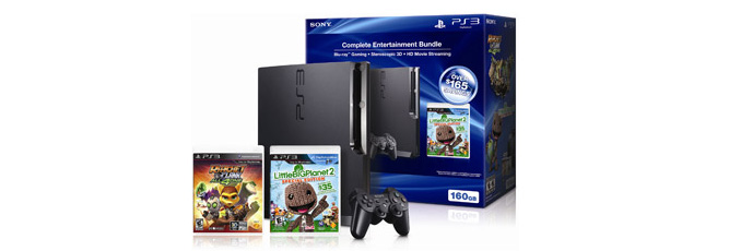 Walmart Offers PS3 Bundle for $199 on Black Friday