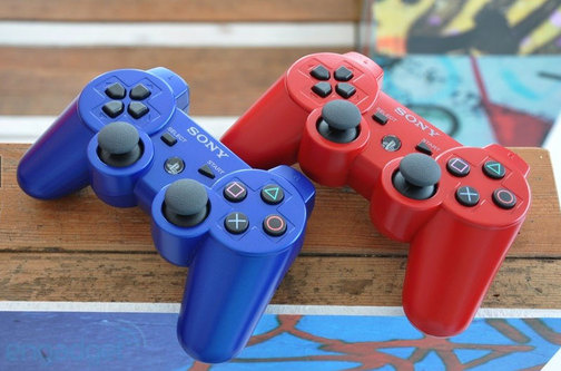 colored controllers